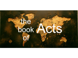 Bible Study - Jerry Sturgill - Acts